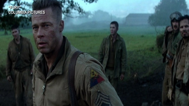 'Fury' roars into theaters
