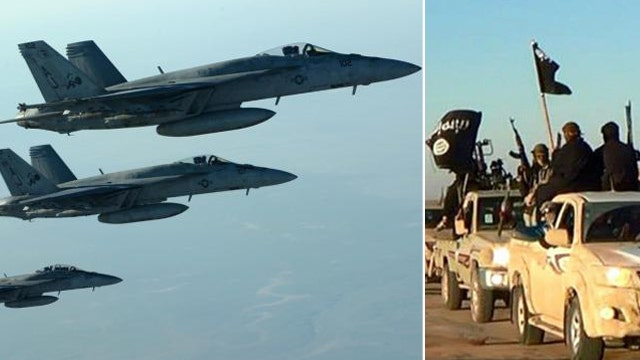 A look at the limits of US airstrikes against ISIS