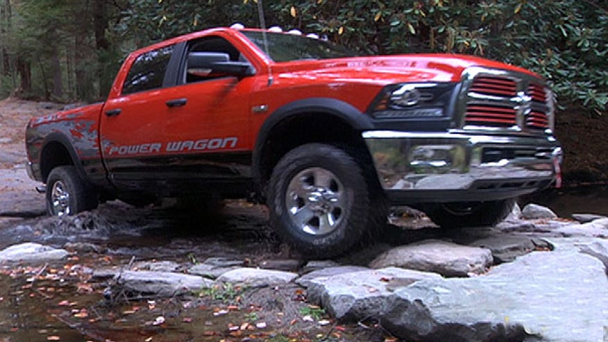 Fox Car Report's Gary Gastelu saves the day in the 2014 Ram Power Wagon.