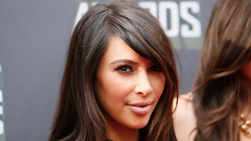 Kardashian's selfies know no bounds