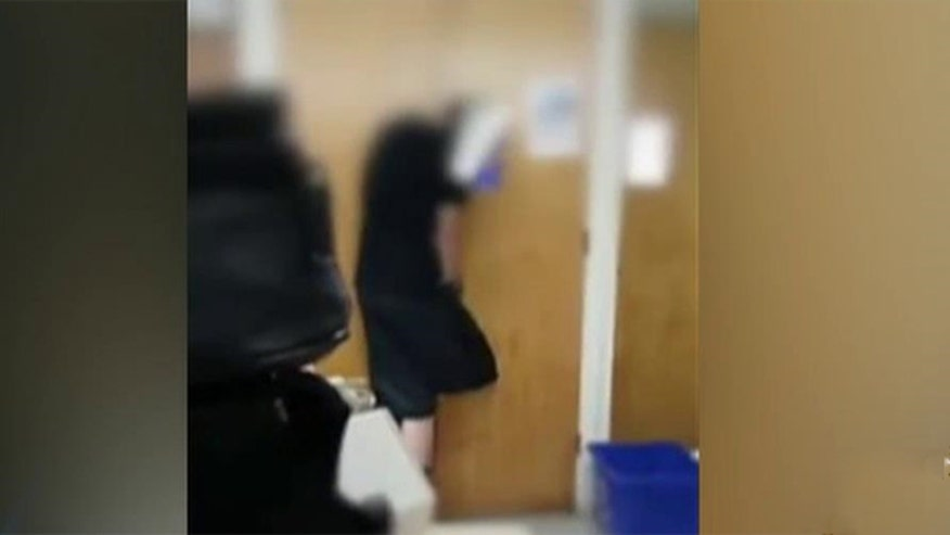 School claims teacher didn't mean to hurt anyone