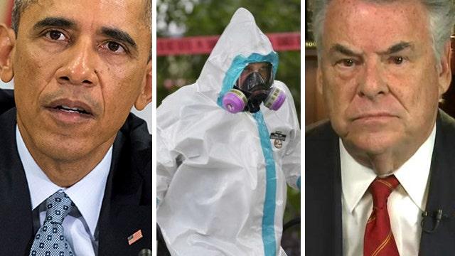 Rep. King: Obama 'ultimately responsible' for Ebola missteps