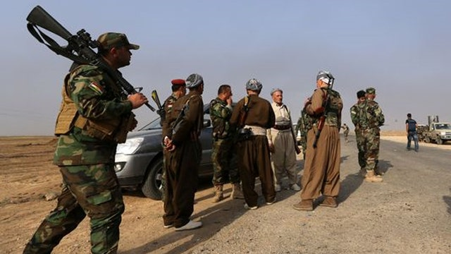 US steps up aid to Kobani Kurds