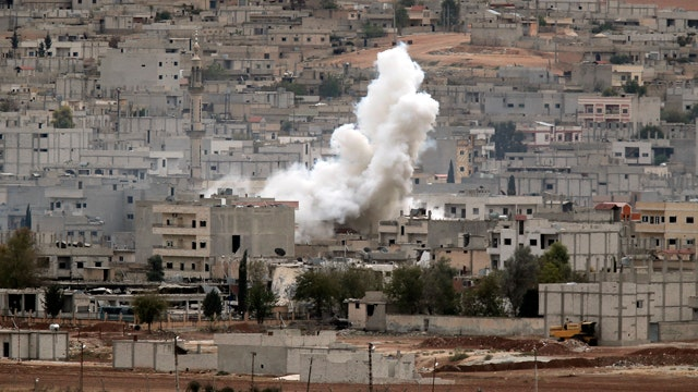 US drops arms, ammunition to Kurds fighting ISIS in Kobani