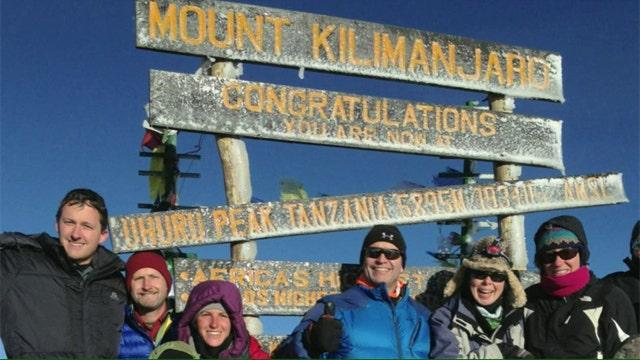 Jon Scott summits Tanzania's Mount Kilimanjaro