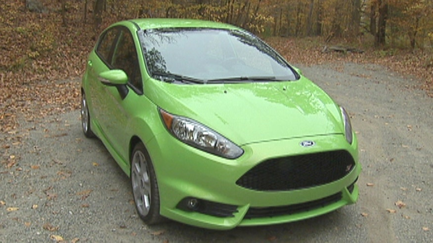 Fox Car Report drives the 2014 Ford Fiesta ST