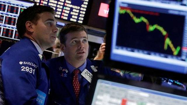 Stocks roaring back following last week's sell-off