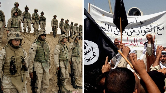 US military key to organizing ground campaign against ISIS