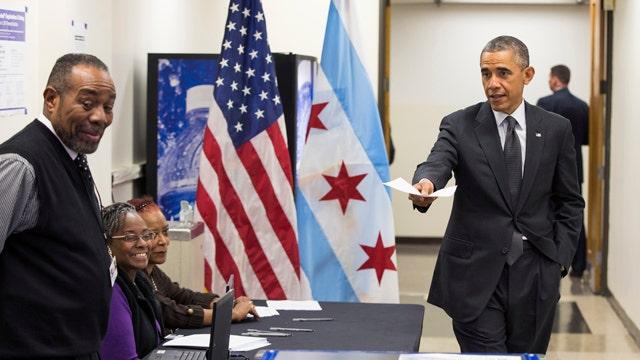 Greta: Pres. Obama can campaign and still do his job