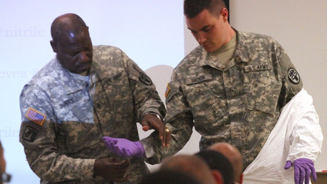 Our military being sent into Ebola 'hot zone' ill-prepared?