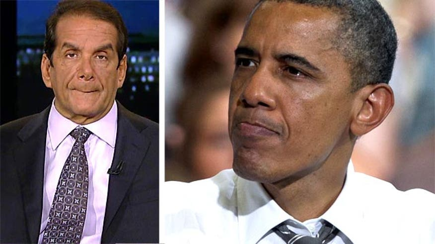 Krauthammer: Obama Humiliated by Lack of Demand on Trail