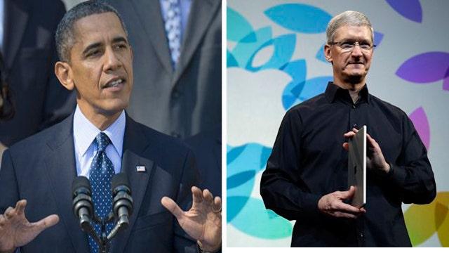 Cavuto: Mr. President, you are no Apple