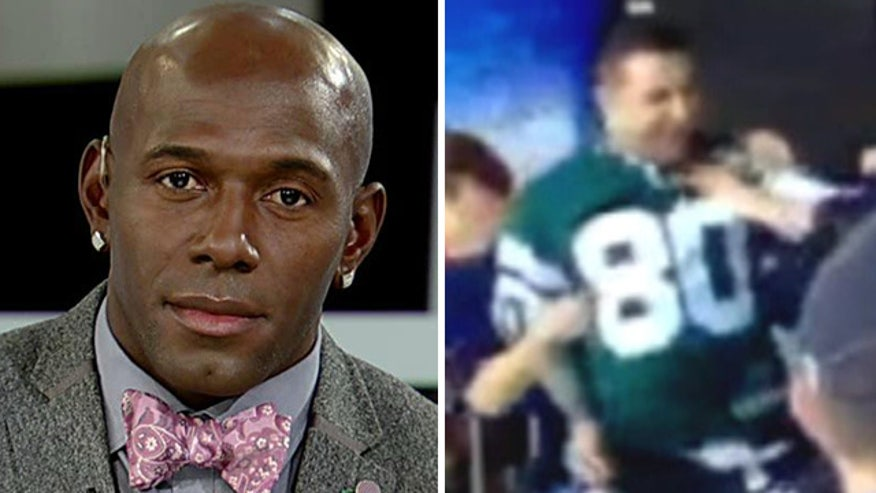 Donald Driver reacts to postgame brawl