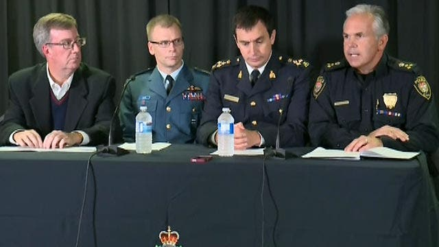 Police confirm soldier, gunman killed in Ottawa shootings