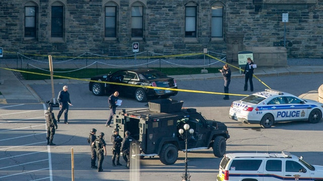 How the Canadian parliament shooting unfolded