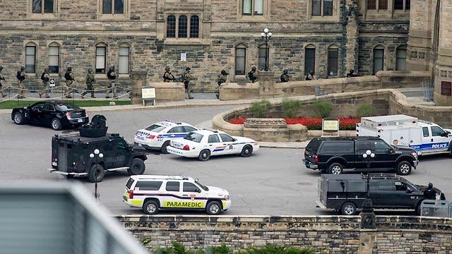 Member of Canadian parliament recounts shooting