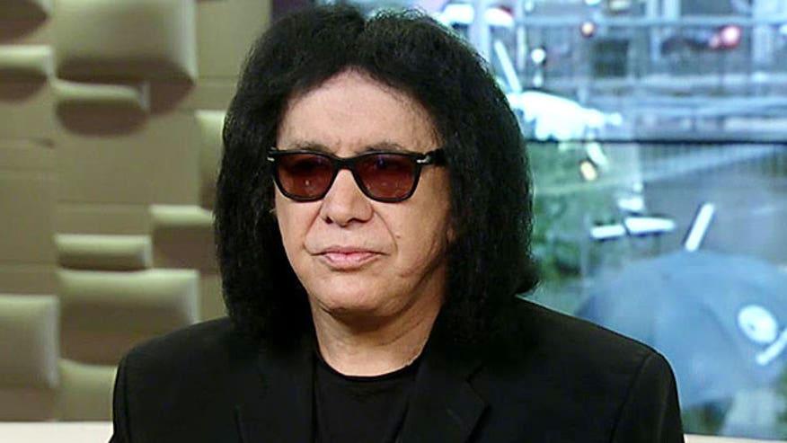 Kiss lead singer on releasing your inner 'rock god'