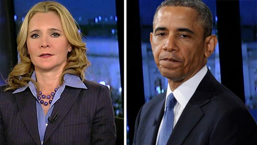 A.B. Stoddard told viewers Thursday that President Obama's efforts to campaign on behalf of Democratic congressional candidates may actually be hurting their chances.
