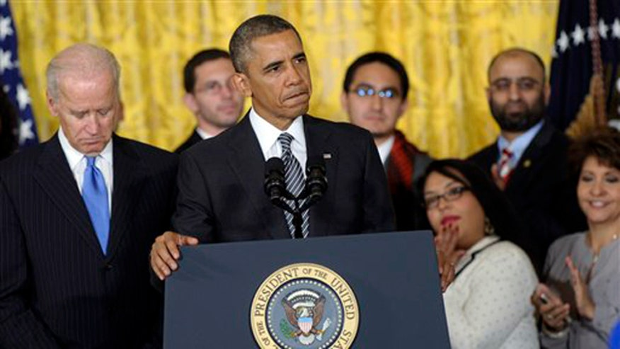 President Obama pushes for immigration reform amid healthcare snafu