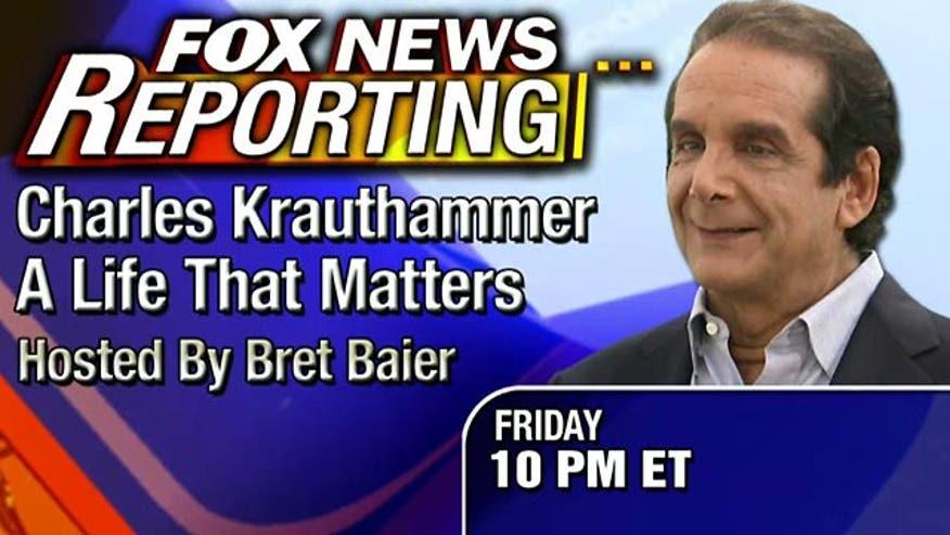 Bret Baier profiles Pulitzer Prize-winning columnist