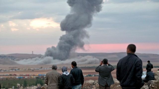 Report: ISIS may be turning tide in battle in Kobani