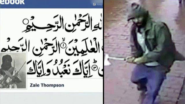 Was hatchet attack on police officers linked to terror?