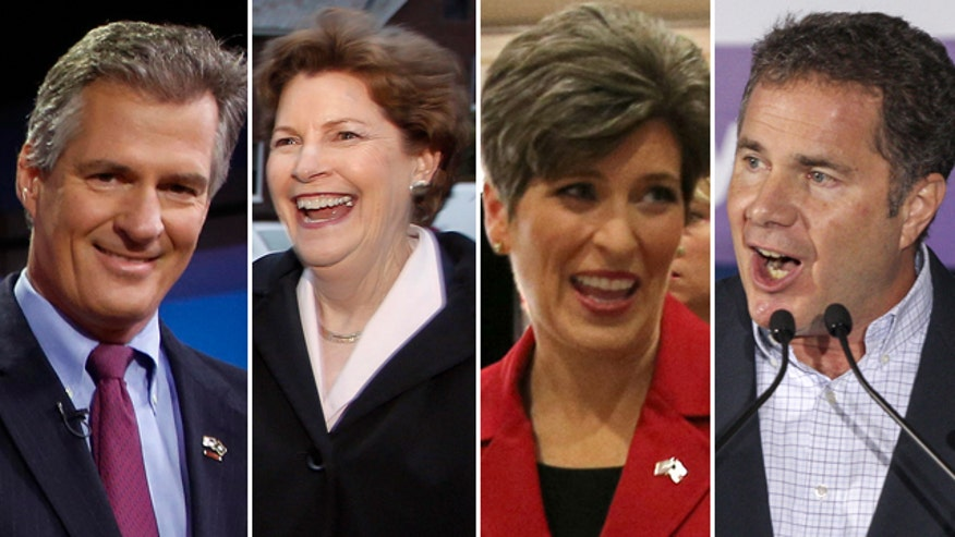 Brown gains ground on Shaheen; Ernst has edge over Braley