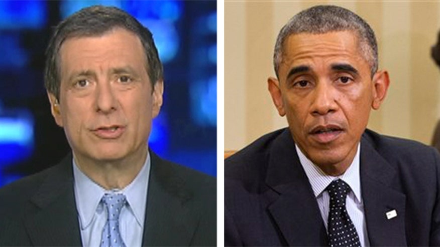 'Media Buzz' host says it's not about the staff, it's about President Obama