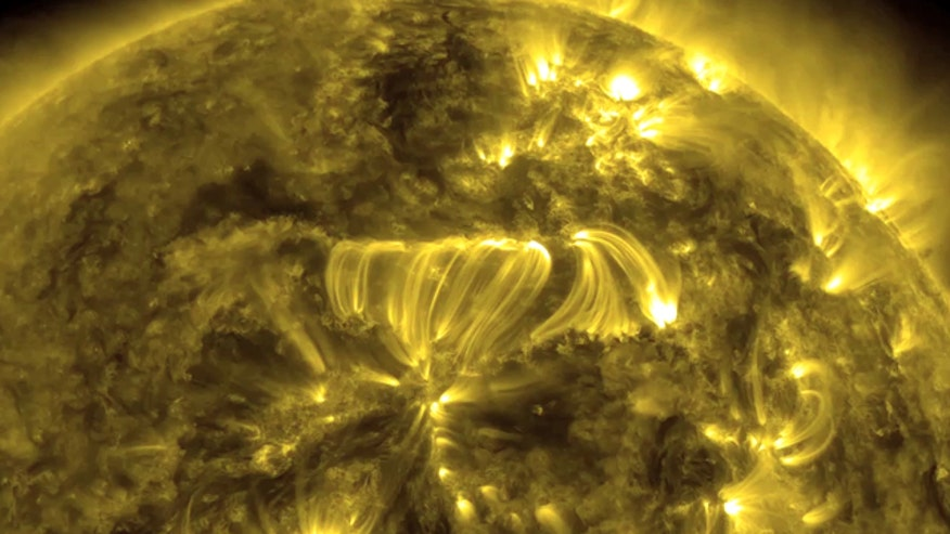 Raw video: NASA releases amazing video of filament eruption
