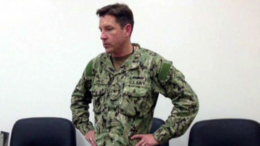 Service member described as 'thickset'