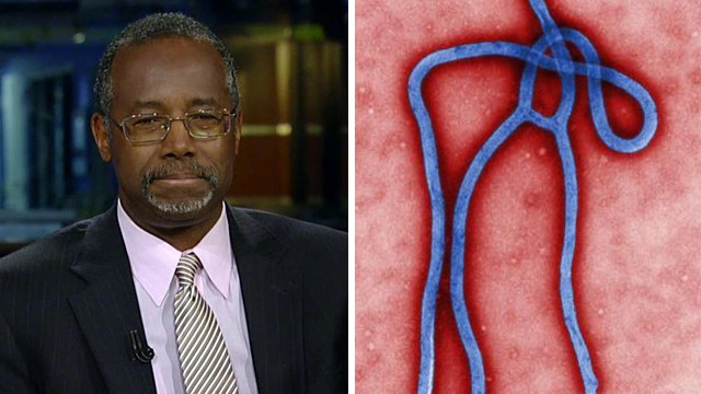 Dr. Ben Carson weighs in on the Ebola fight