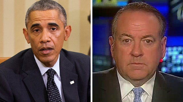 Gov. Huckabee on why Obama is struggling to lead