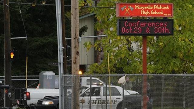Police recover handgun in Washington state school shooting