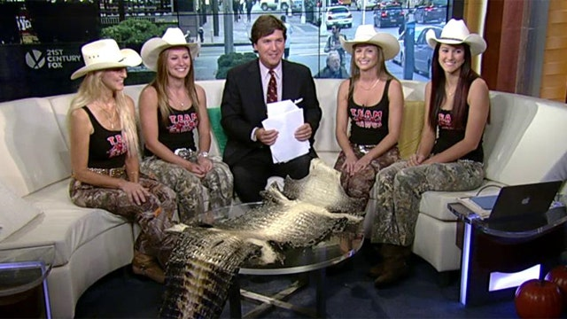 'Hog Dawg' girls come to ranchers rescue
