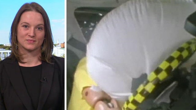 Victim of airbag explosion speaks out