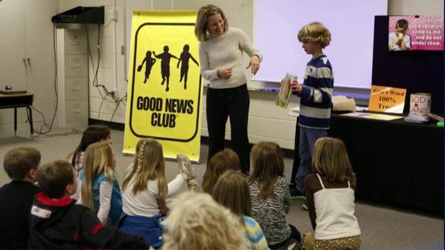 Atheist parent attacks Christian after-school club