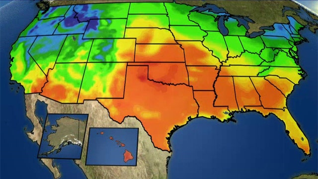 National forecast for Sunday, October 26