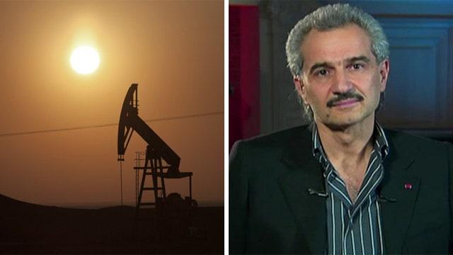 Saudi Prince Alwaleed warns of impact of falling oil prices