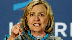 It is absolutely clear why Mrs. Clinton is seesawing between condemning and giving left-handed compliments to businesses and entrepreneurs.