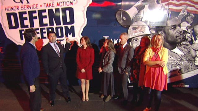 Defend our Freedom Tour asks Americans to honor veterans