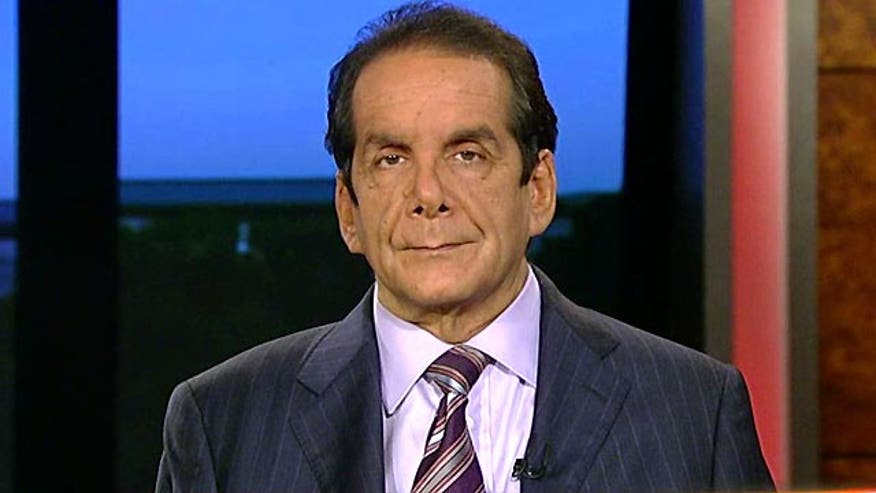 """Obamacare is gonna collapse on its own,"" predicted Syndicated Columnist Charles Krauthammer Monday night on Special Report w/Bret Baier."
