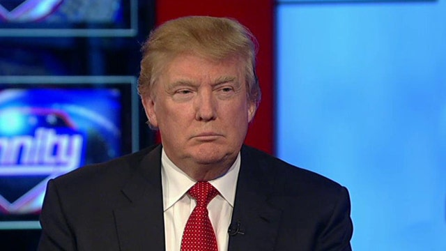 Donald Trump calls the Obama economy a 'disaster'