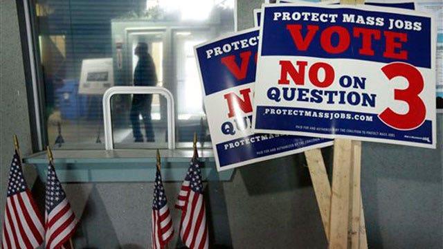 Voters considering ban on casinos in Massachusetts