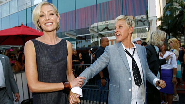 Are Ellen and Portia fighting in cars?