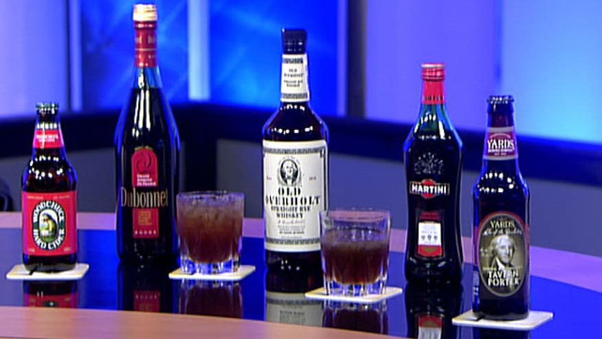 Author Mark Will-Weber gives an inside look at the presidents' favorite drinks