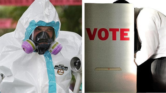 Bias Bash: Are networks using Ebola to overshadow elections?