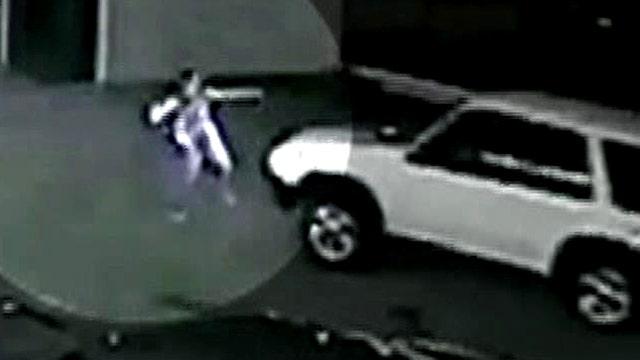SUV runs over man in liquor store parking lot