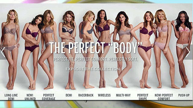 Victoria's Secret 'perfect body' ad sparks backlash
