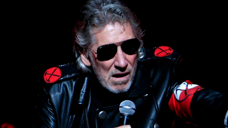 Roger Waters sported black eye, stitches