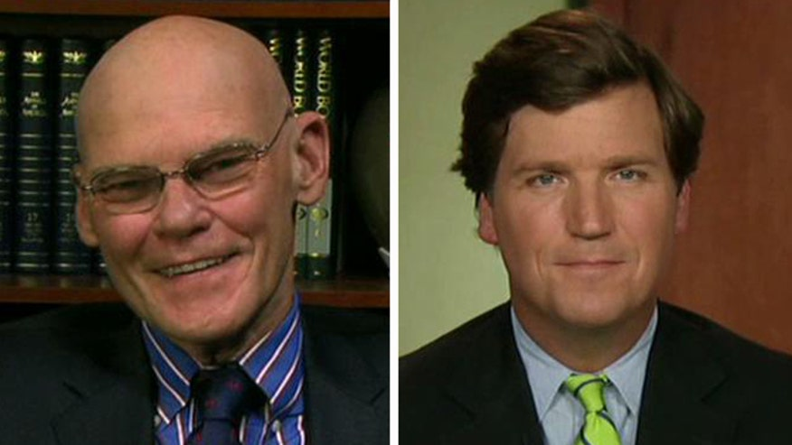 James Carville, Tucker Carlson debate